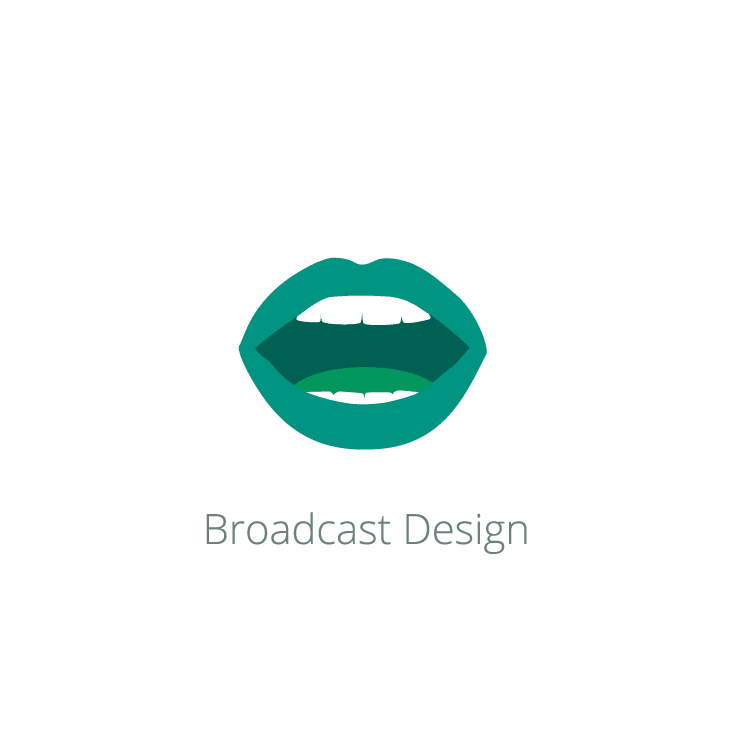 Mobile Buttons_Services_Digital_Broadcast Design