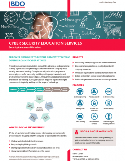 Cyber Security Education Services