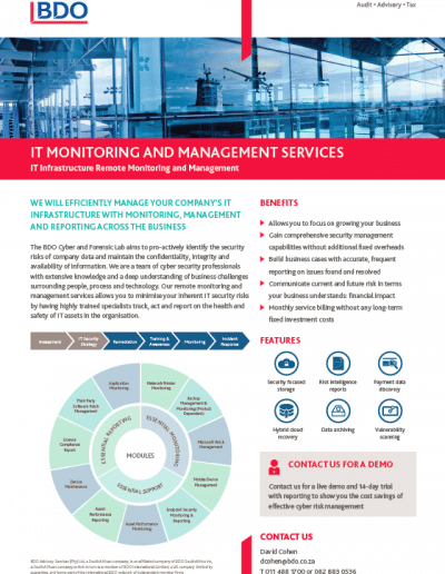 IT Monitoring and Management Services