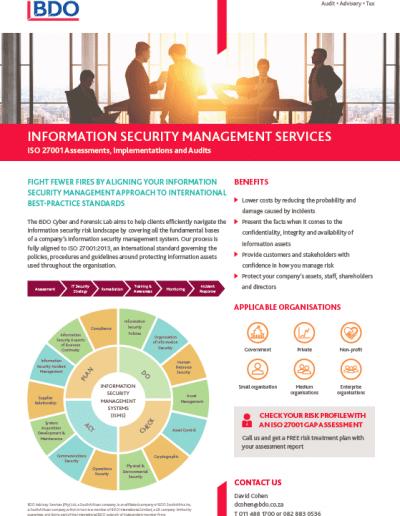 Information Security Mangement Services