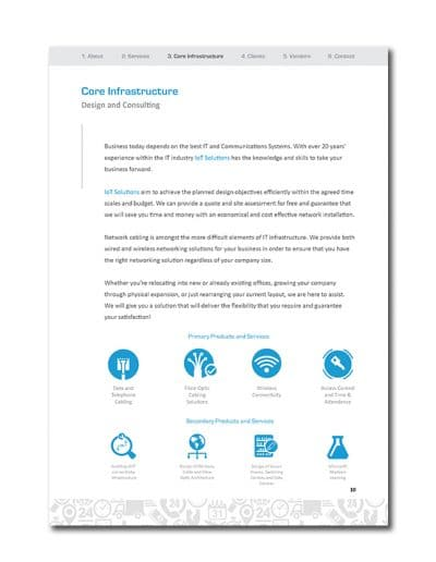 IoT Company Profile Page 13