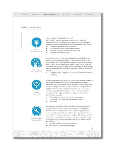 IoT Company Profile Page 14
