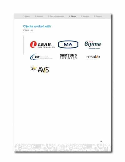 IoT Company Profile Page 16