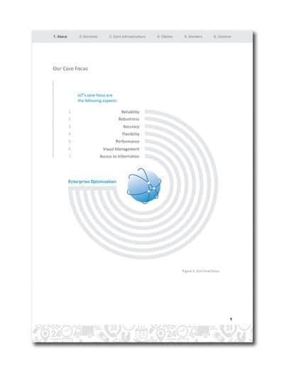 IoT Company Profile Page 6