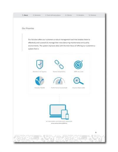 IoT Company Profile Page 8
