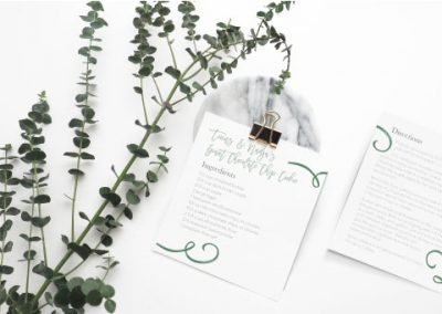 Nadja & Tinus Wedding Stationary